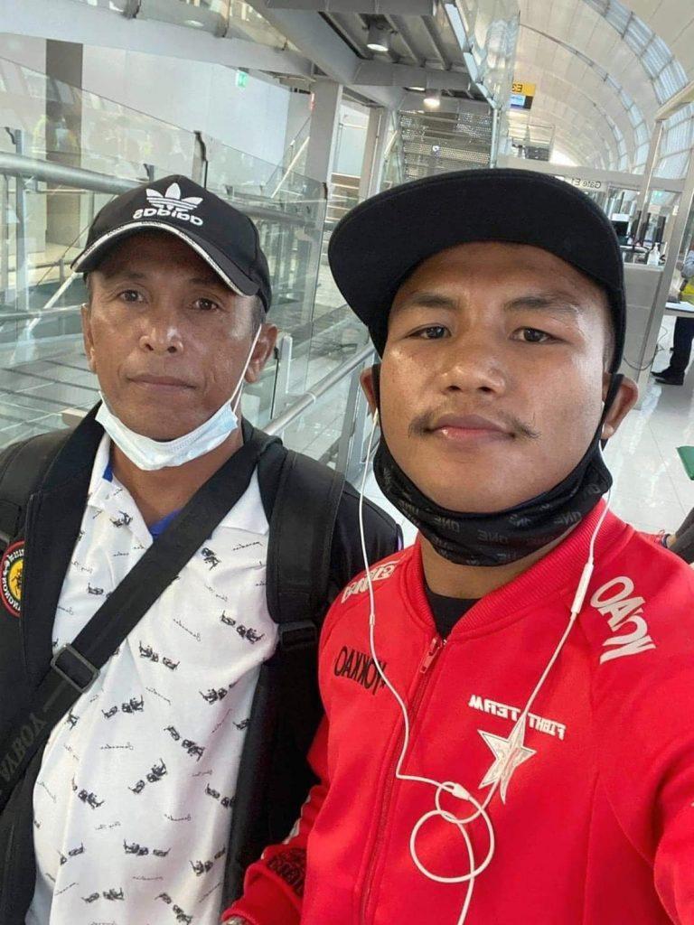 รถถัง และอาจารย์สุบิน เดินทางไปประเทศสิงคโปร์แล้ว พร้อมระเบิดในศึก ONE FISTS OF FURY