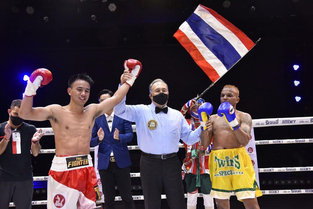 อานนท์ ชนะ อำนาจ คว้าแชมป์ WBA Asia รุ่น126