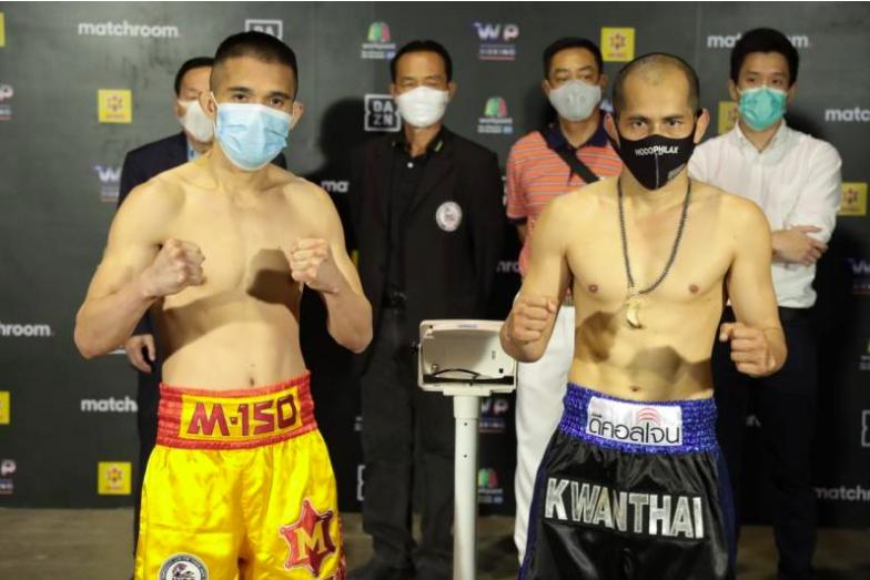 ศรีสะเกษ VS ขวัญไทย ชั่งผ่านฉลุย พร้อมดวล คู่เอก WP Boxing เสาร์นี้